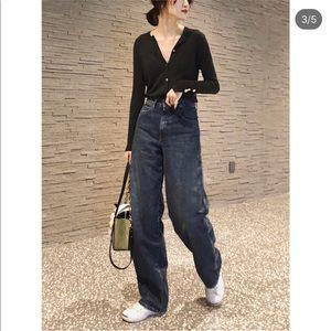 Uniqlo Jeans - Uniqlo U 2019 Jeans - 65 blue